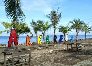 Keunikan Pantai Wisata Akkarena Di Kota Makassar