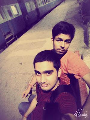 najibabad railway station , selfie , lansdowne trip