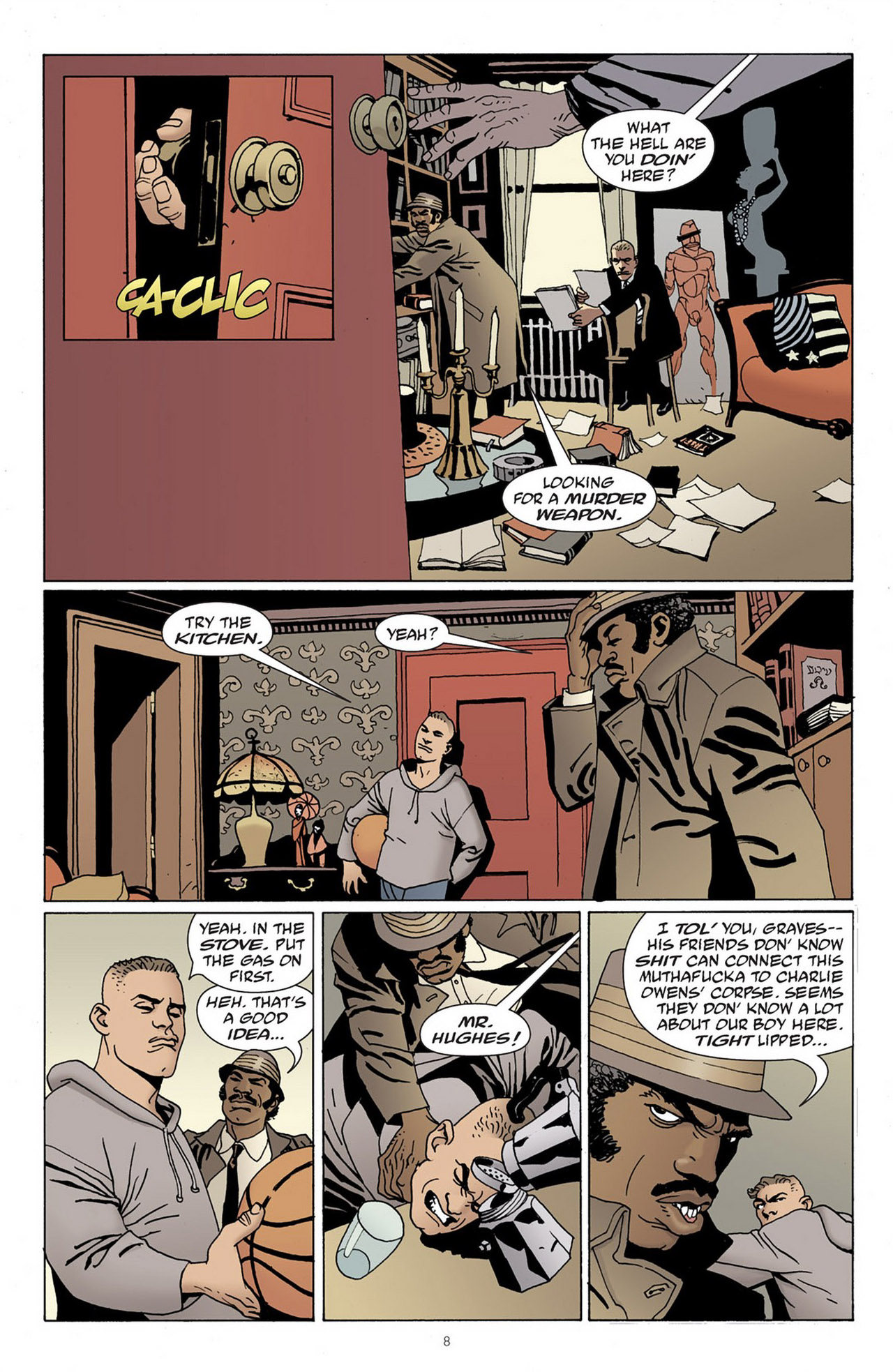 Read online 100 Bullets comic -  Issue #83 - 9