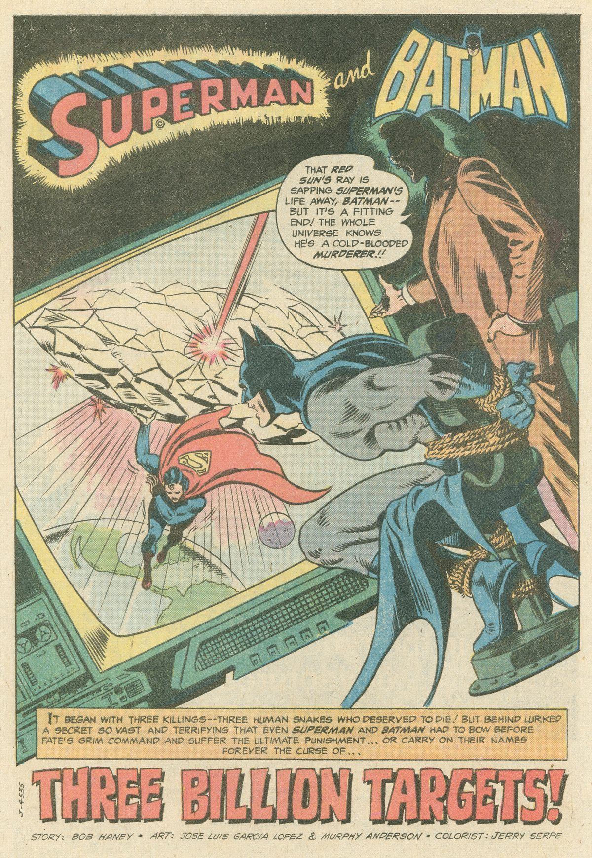 Read online World's Finest Comics comic -  Issue #244 - 4