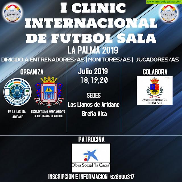 Los Llanos de  Aridane y Breña Alta acogerán este verano  el primer Clinic Internacional de fútbol sala