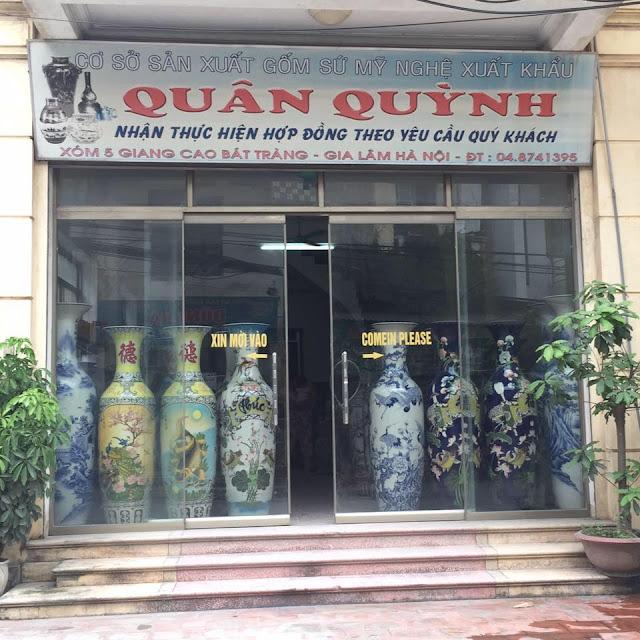 cửa hàng gốm sứ bát tràng uy tín tại hà nội