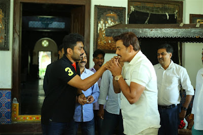 nandamuri-kalyan-ram-birthday-celebrations-mla-movie-sets-3294172