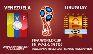Prediksi Venezuela vs Uruguay 6 Oktober 2017