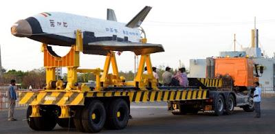 India testa seu RLV-TD (veículo de lançamento reutilizável)