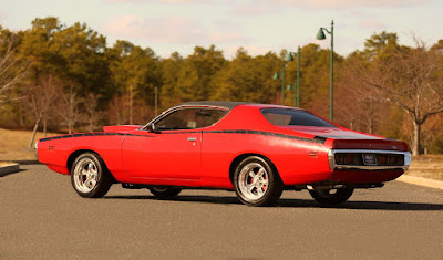 1971 Dodge Charger Sport Coupe Rear Left