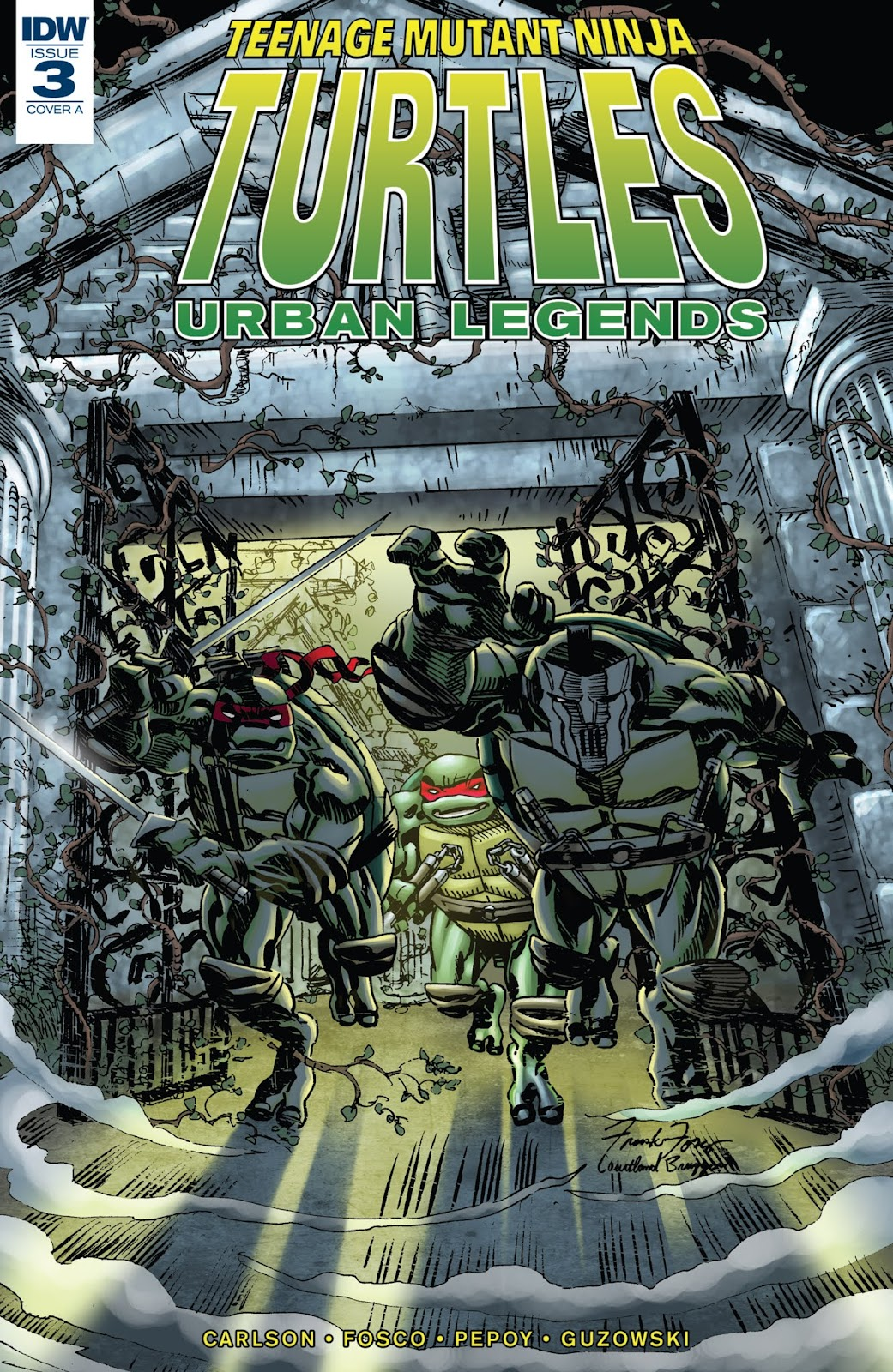 Teenage Mutant Ninja Turtles: Urban Legends issue 3 - Page 1