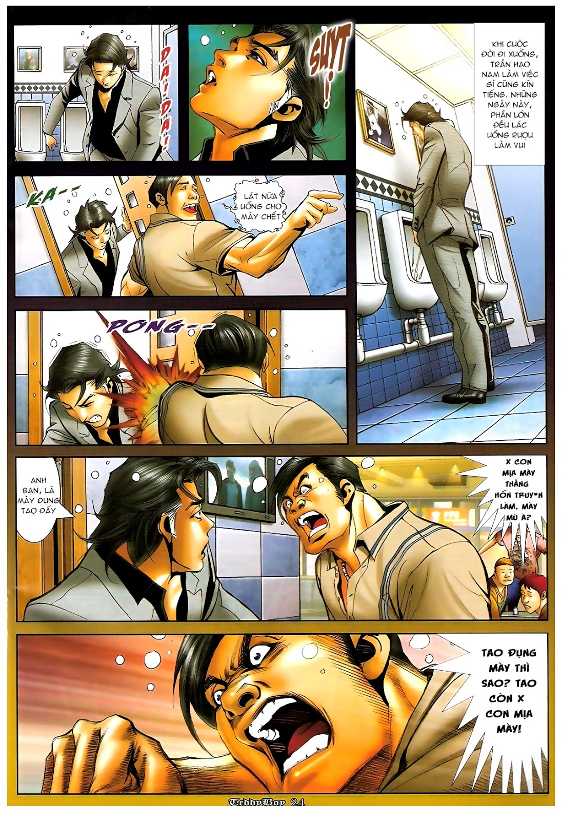 Người Trong Giang Hồ - Chapter 1210: Giải tán - Pic 23