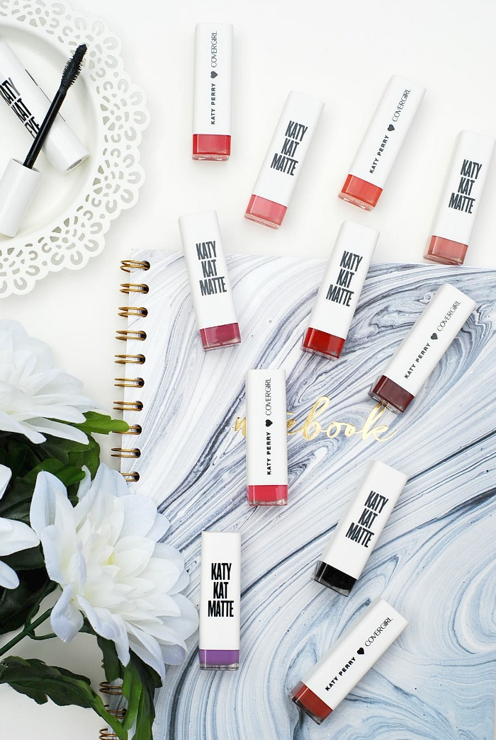 Katy Kat Matte Lipsticks Swatches and Review