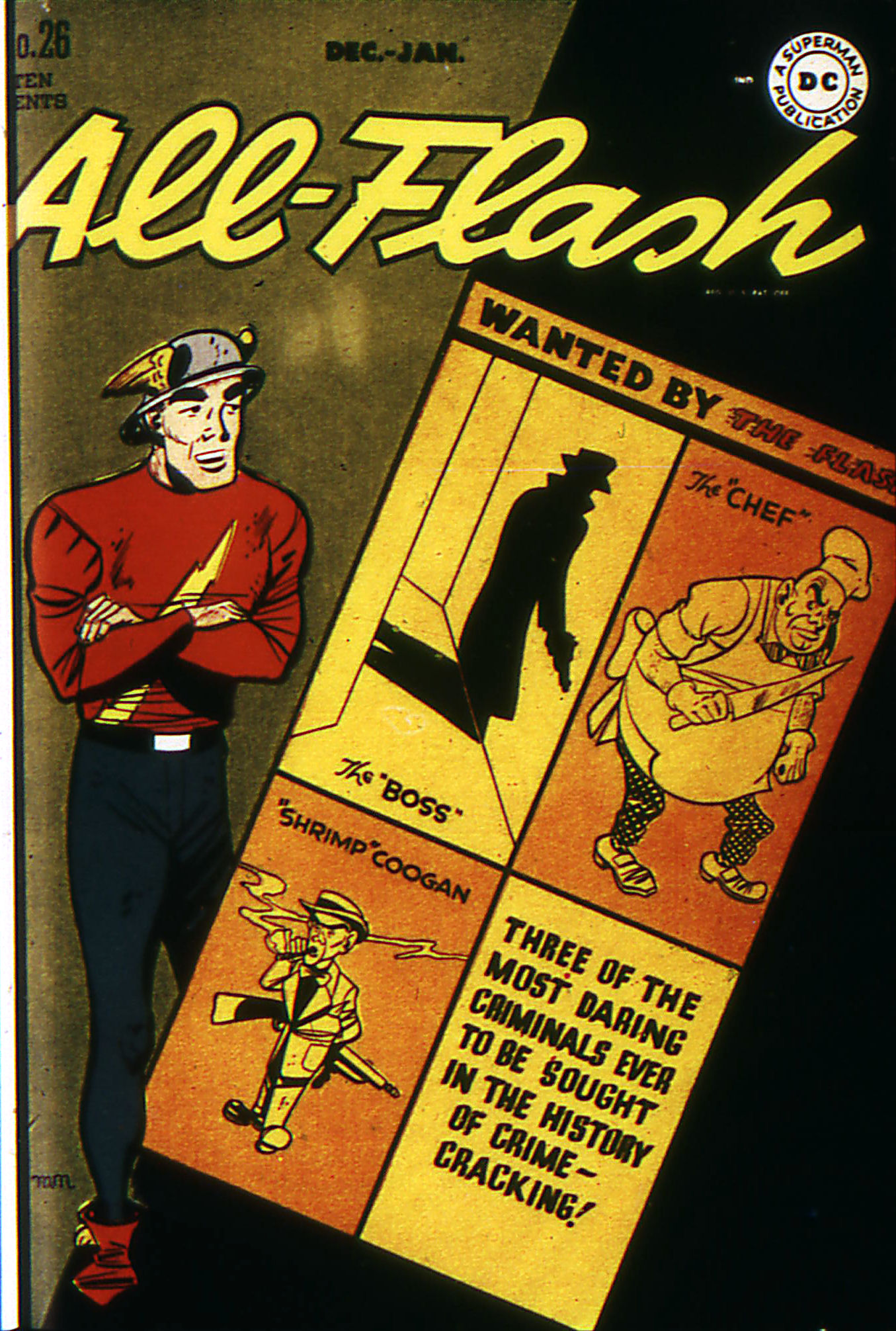 Read online All-Flash comic -  Issue #26 - 1