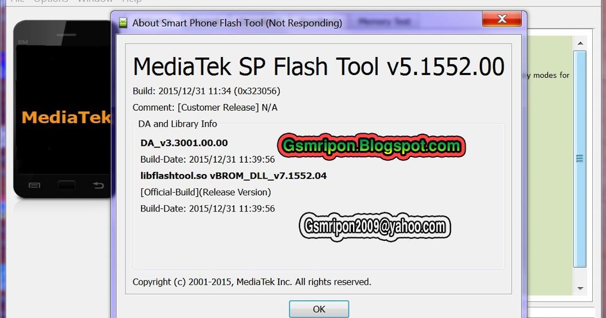 RIPON MOBILE ZONE: SP Flash Tool v5.1552. New Version ...