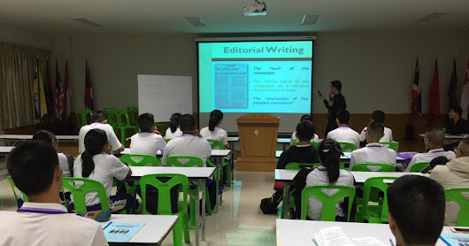 Young aspiring writers undergo Campus Journalism workshops in Phitsanulok