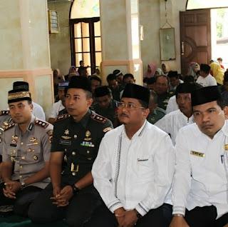 Tim Safari Ramadhan Yang Dipimpin Dandim 0308 Pariaman, Kunjungi Tiga Masjid/Mushalla di Padang Pariaman
