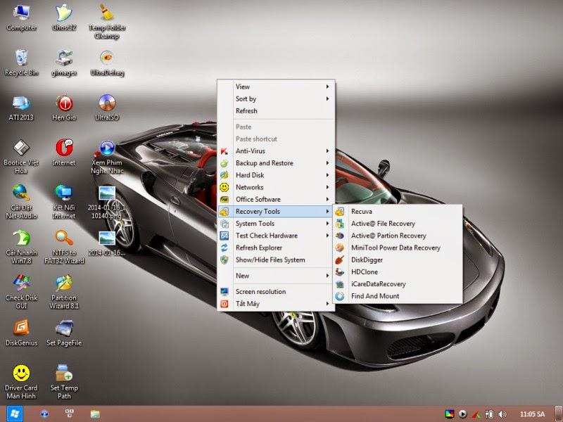 Hiren BOOT Việt_Anh Mini XP Win7,8 32 và 64 bit hổ trợ BOOT