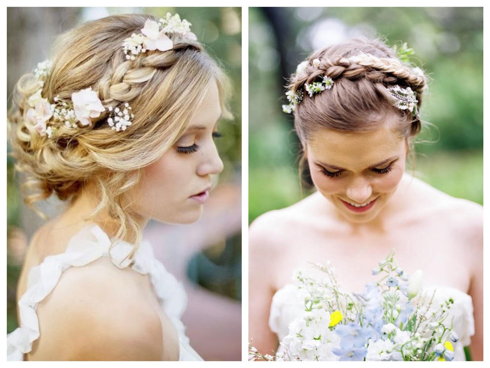 Acogedor peinados elegantes para boda Fotos de tendencias de color de pelo - Trenzas para novias e invitadas | Sweet Bodas