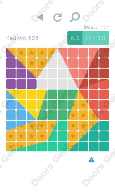 Cheats, Walkthrough for Blocks and Shapes Medium Level 328