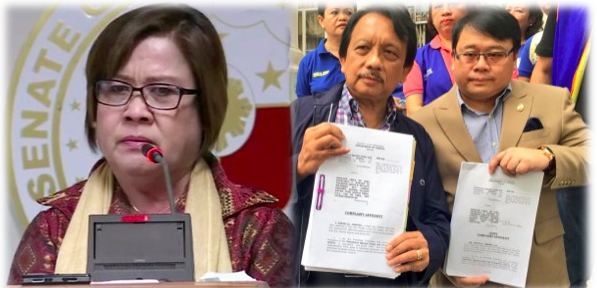 De Lima, 7 others face drug trafficking complaints