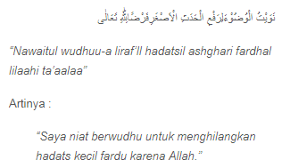 Cara Dan Doa Wudhu Yang Benar