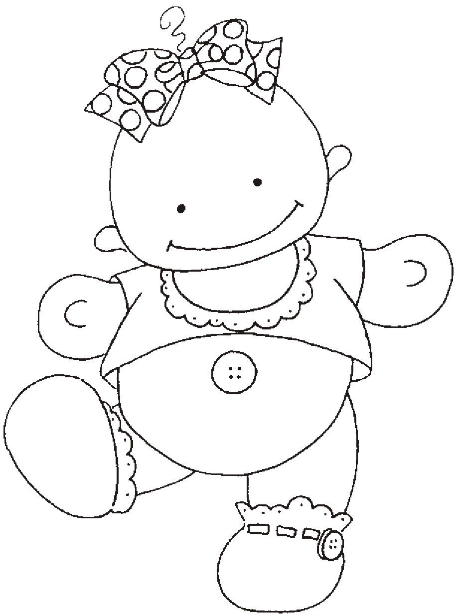 Desenhos De Bebe Para Imprimir