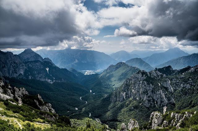 Alpen Italien Tolmezzo Mountainbike
