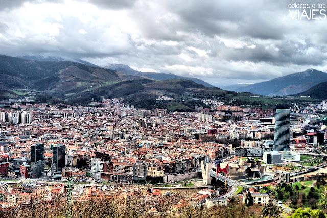 Mirador de Artxanda: las mejores vistas de Bilbao ~ Adictos a los ...