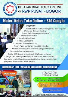 Materi Toko Online dan SEO Google