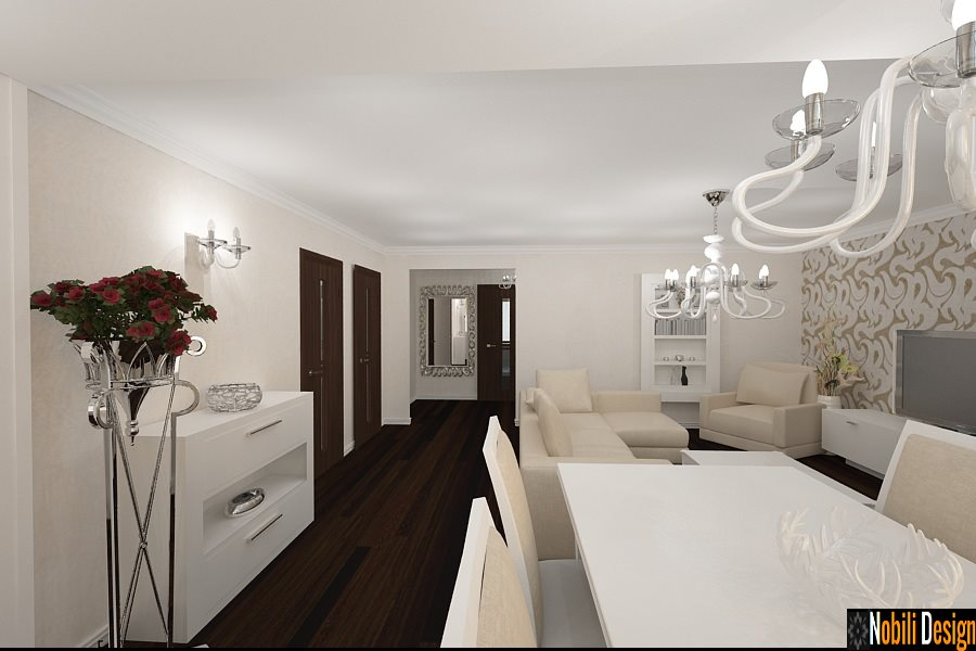 Design interior apatament modern Bucuresti - Amenajare apartament modern in Bucuresti