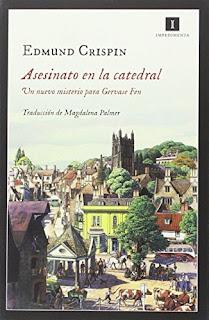 """""""Asesinato en la catedral"""" - Edmund Crispin"""