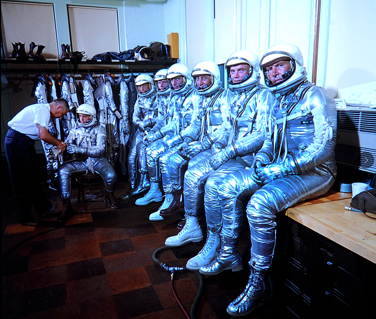Mercury and Gemini Astronauts - Pics about space