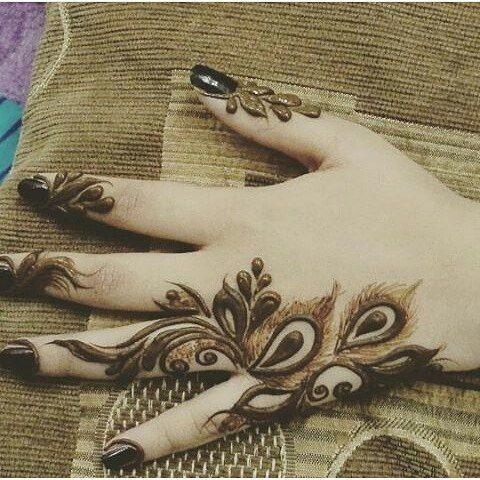 75 Latest Finger Mehndi Designs To Try In 2019 Velvet Bytes