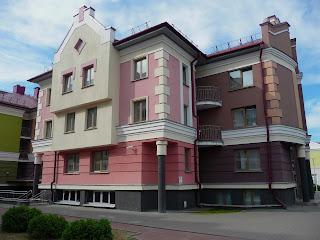 Пинск. Полесский университет. Студенческая деревня