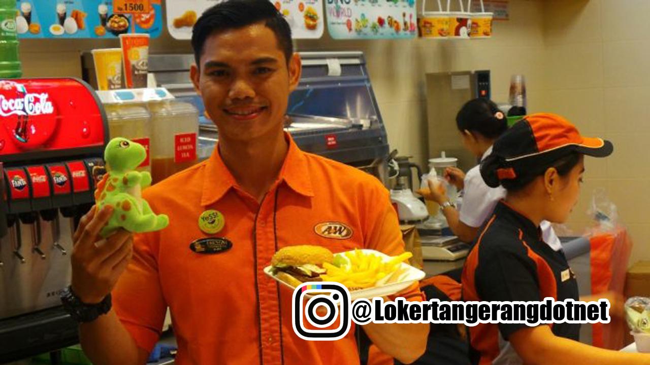 Lowongan Kerja A&W Restaurants Tangerang 2020