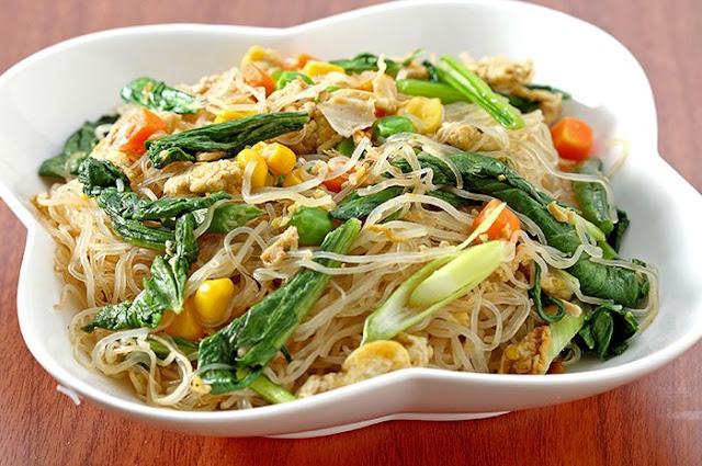 soun goreng sayuran