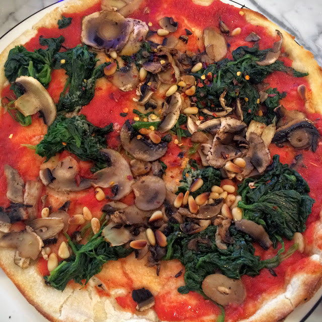 Pizza Express, Ice Age, Collision Course, Pizza, vegan, dairy free,