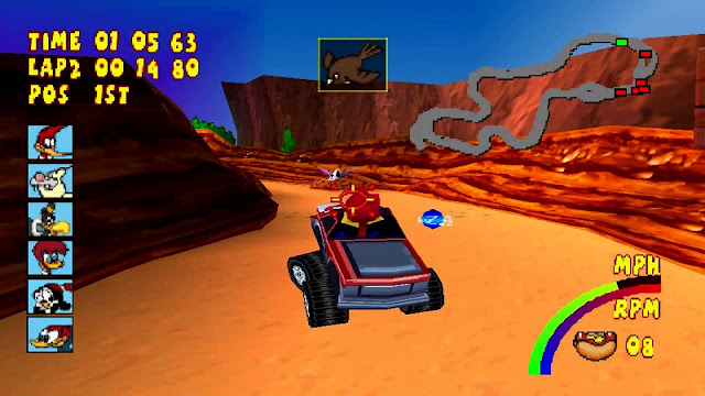 Download Woody Woodpecker Racing ISO PS 1 PC dan Android