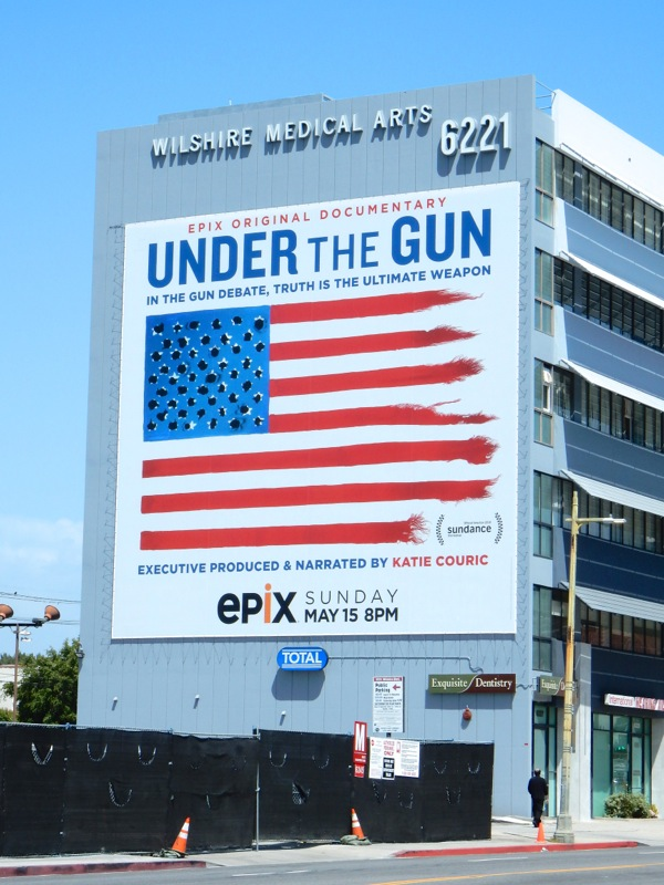 Giant Under the Gun Epix documentary billboard