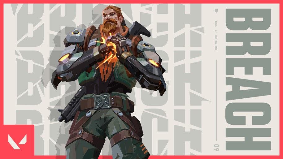 Breach, Valorant, 4K, #5.2414