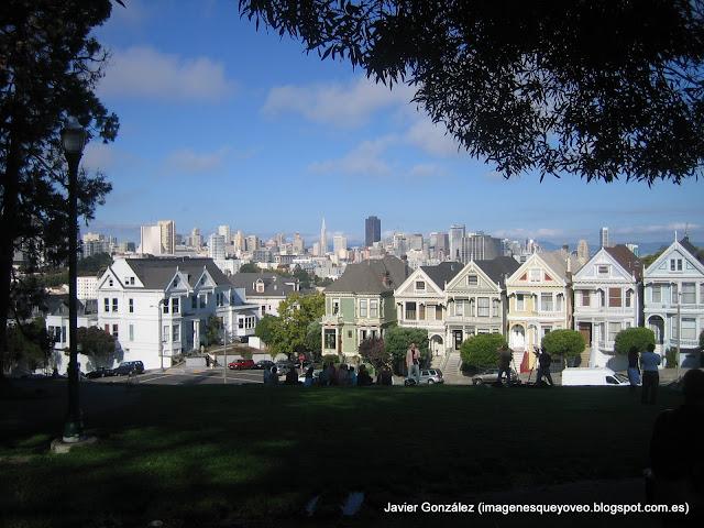 San Francisco - Parque de la Plaza del Alamo - Alamo Square Park