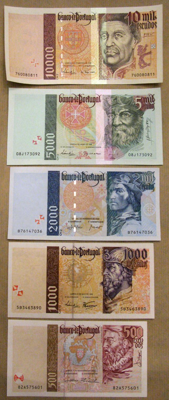Old Money Old Portuguese Stuff