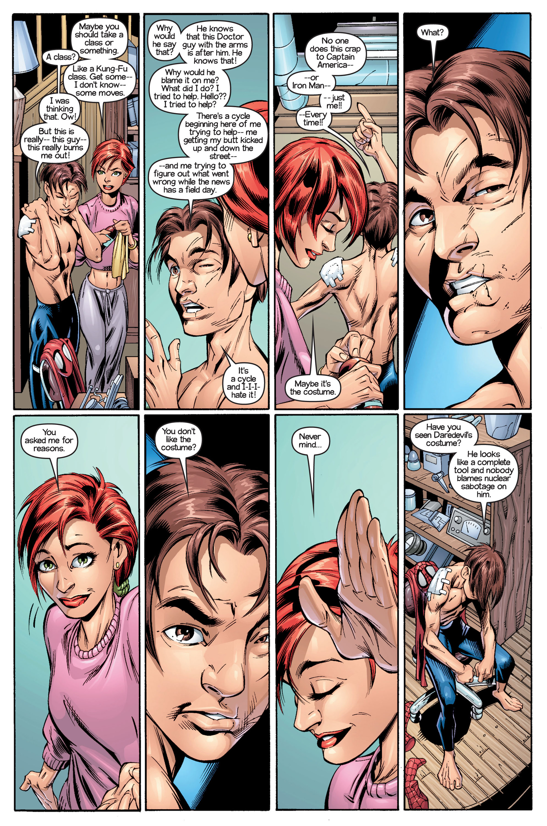 Read online Ultimate Spider-Man (2000) comic -  Issue #18 - 15
