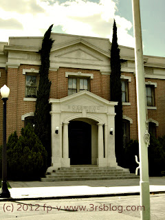 "Warner Bros. Studio back lot ""Rosewood City Hall"""