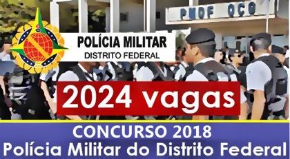 Concurso PMDF 2018 - Soldado