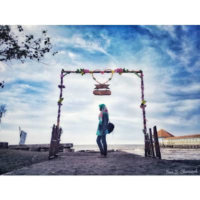Foto Keindahan Pantai Purwahamba Indah Tegal Jawa Tengah