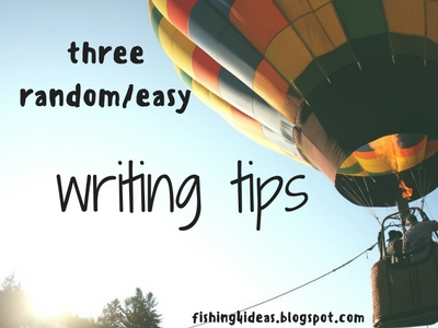 Three Random and Easy Writing Tips Image