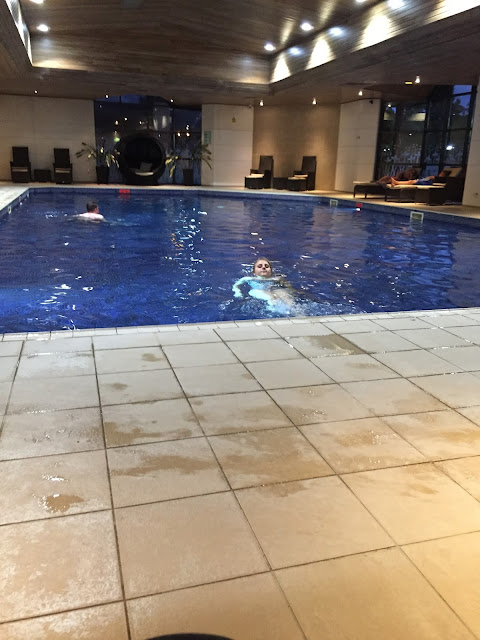 Marriott Gateshead indoor pool area