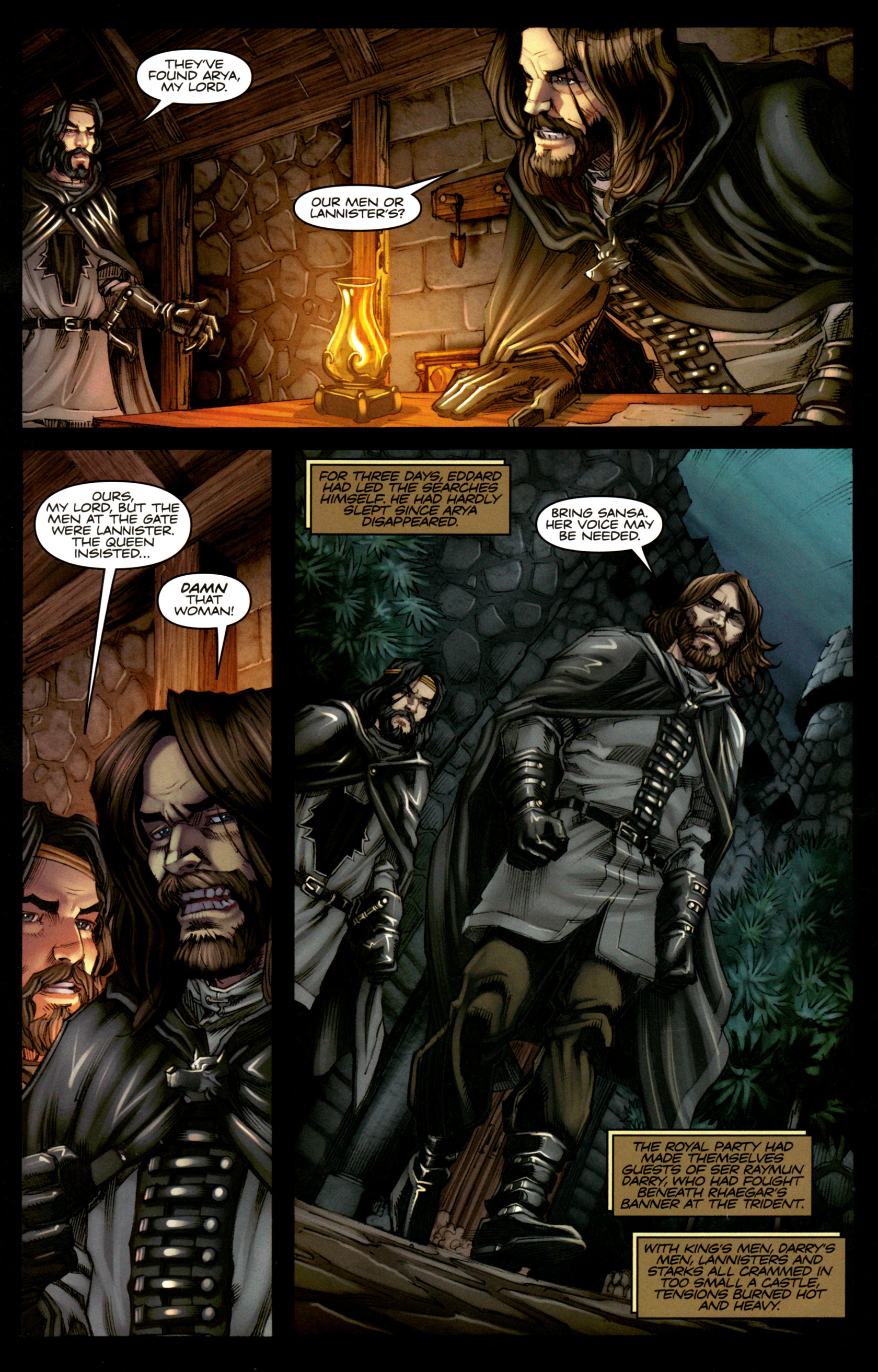 Read online A Game Of Thrones comic -  Issue #5 - 20