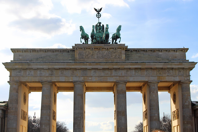 Brandenburg Gate, Berlin - travel & lifestyle blog
