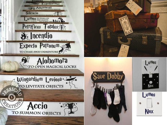 10 ideas de Decoración en dormitorios al estilo Harry ...