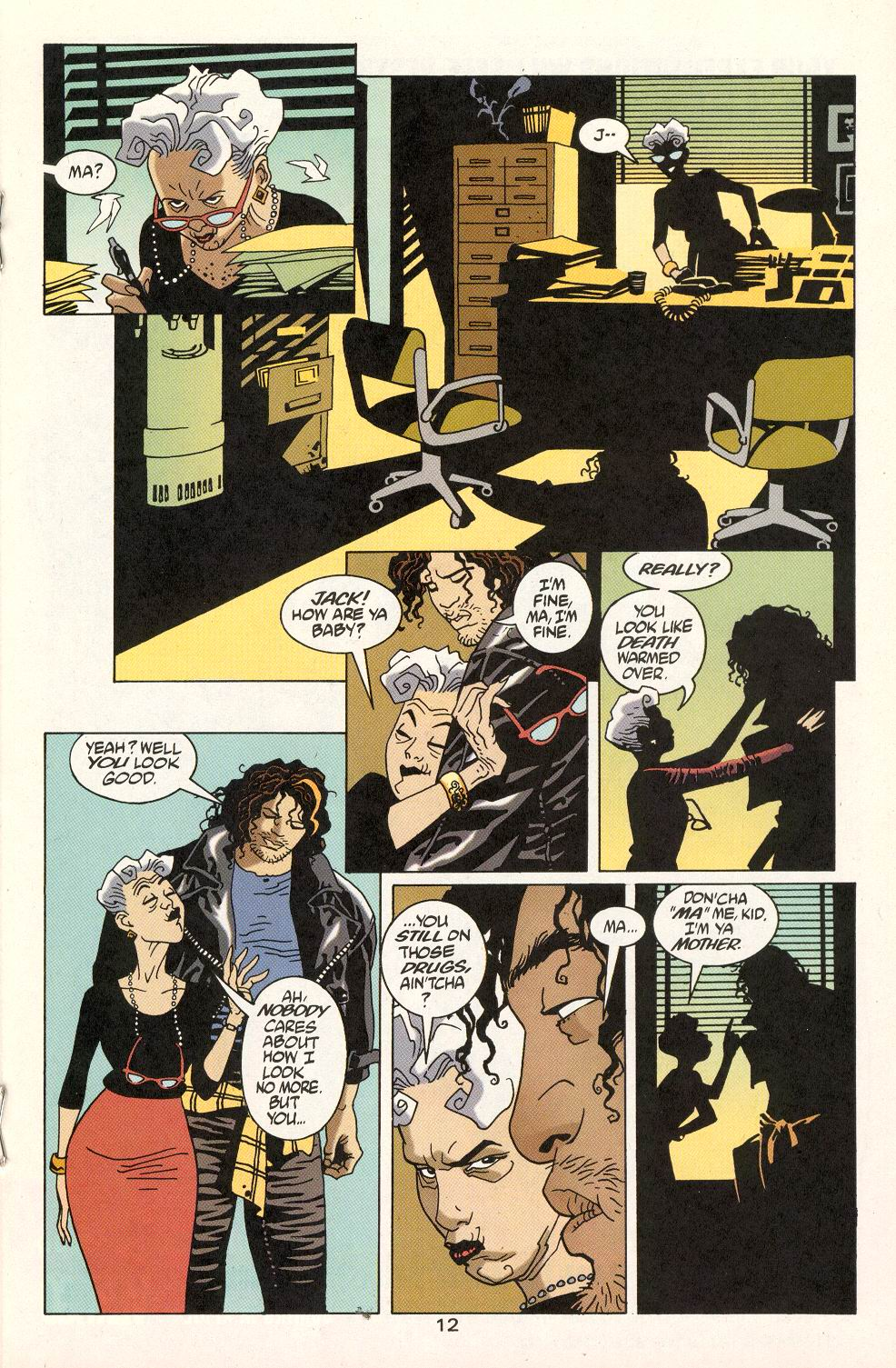 Read online 100 Bullets comic -  Issue #22 - 13