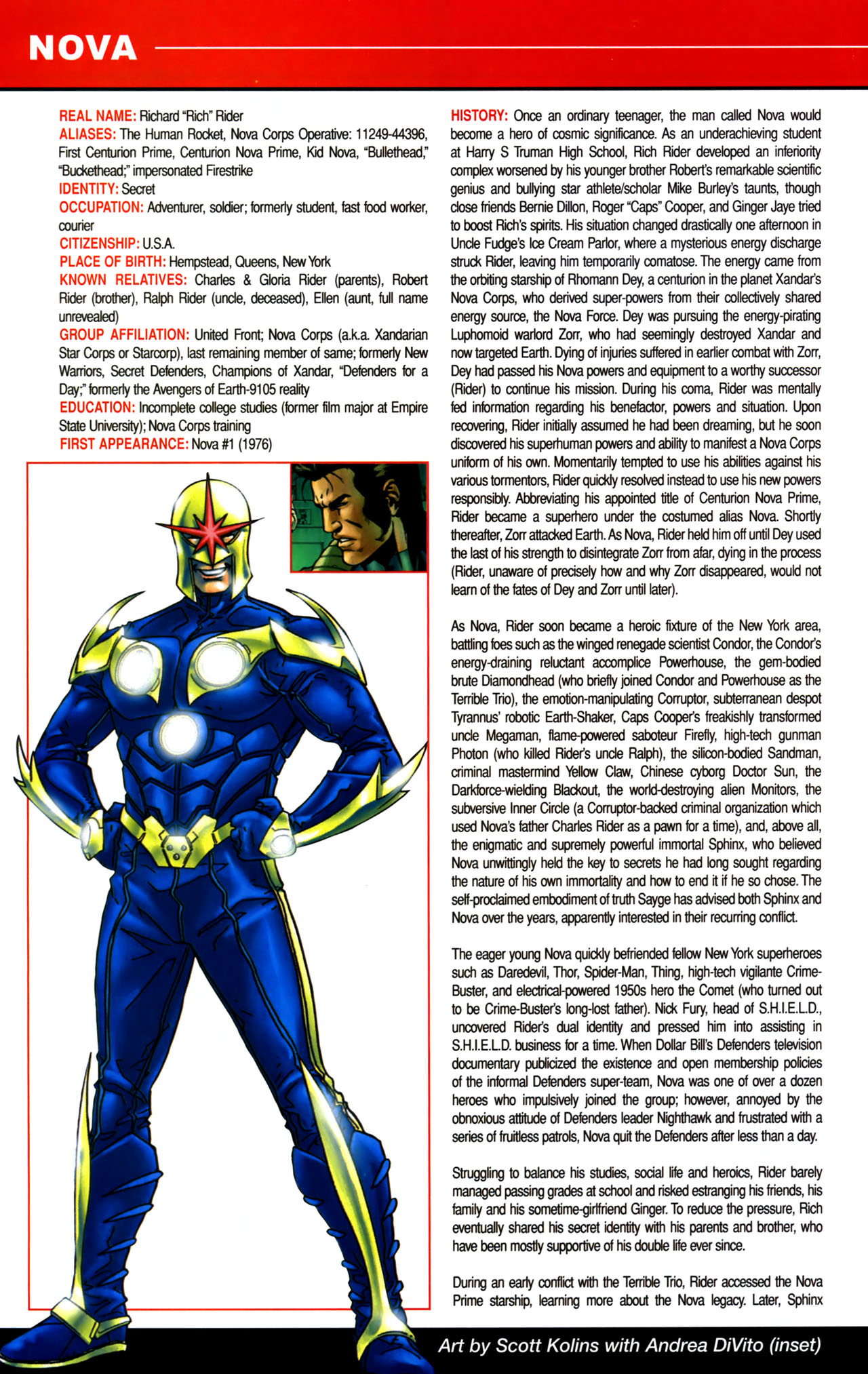 Read online All-New Official Handbook of the Marvel Universe A to Z comic -  Issue #8 - 20